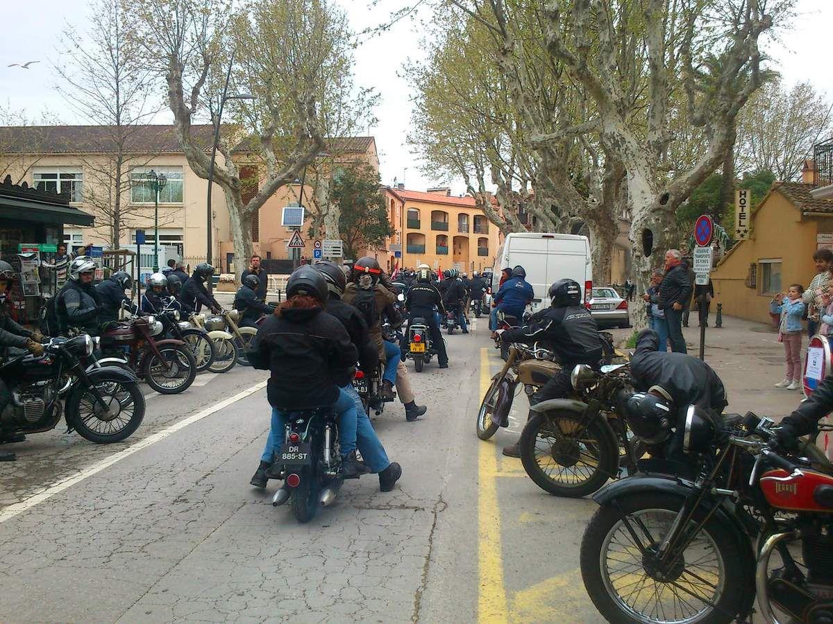 Les motos à Saint-Tropez 2016