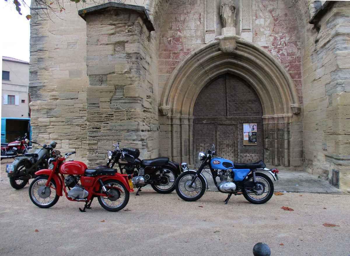 Les motos au Ventoux