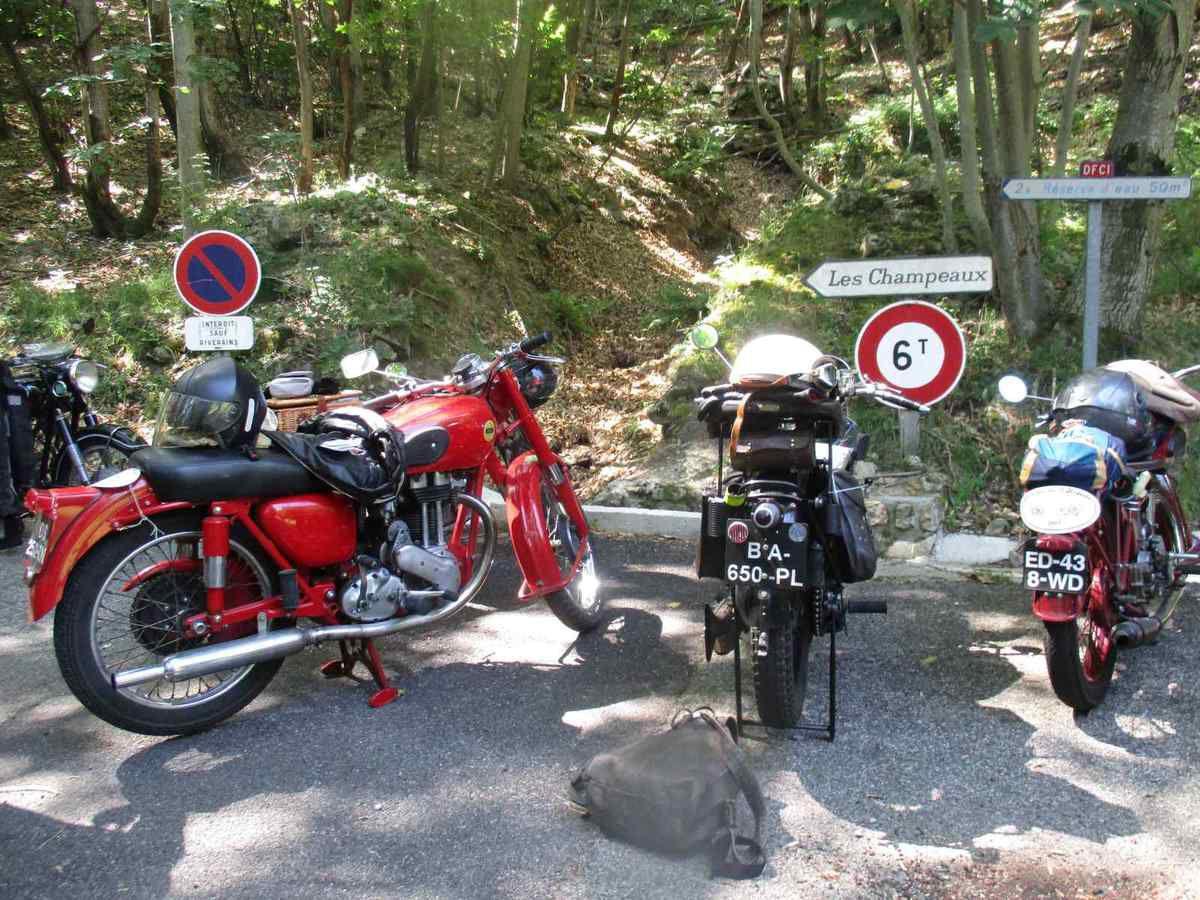 Le Rétro Tour d'Ardèche, juin 2017