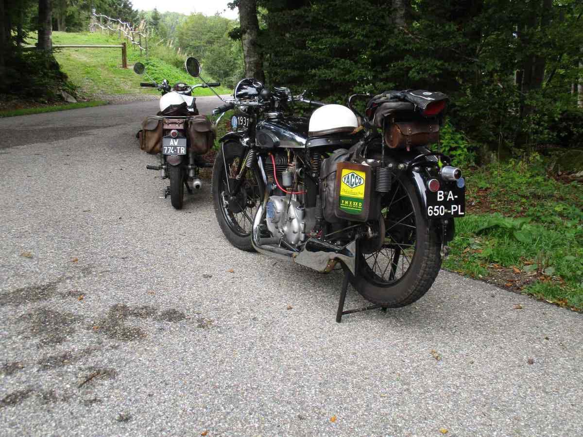Les motos dans le Vercors