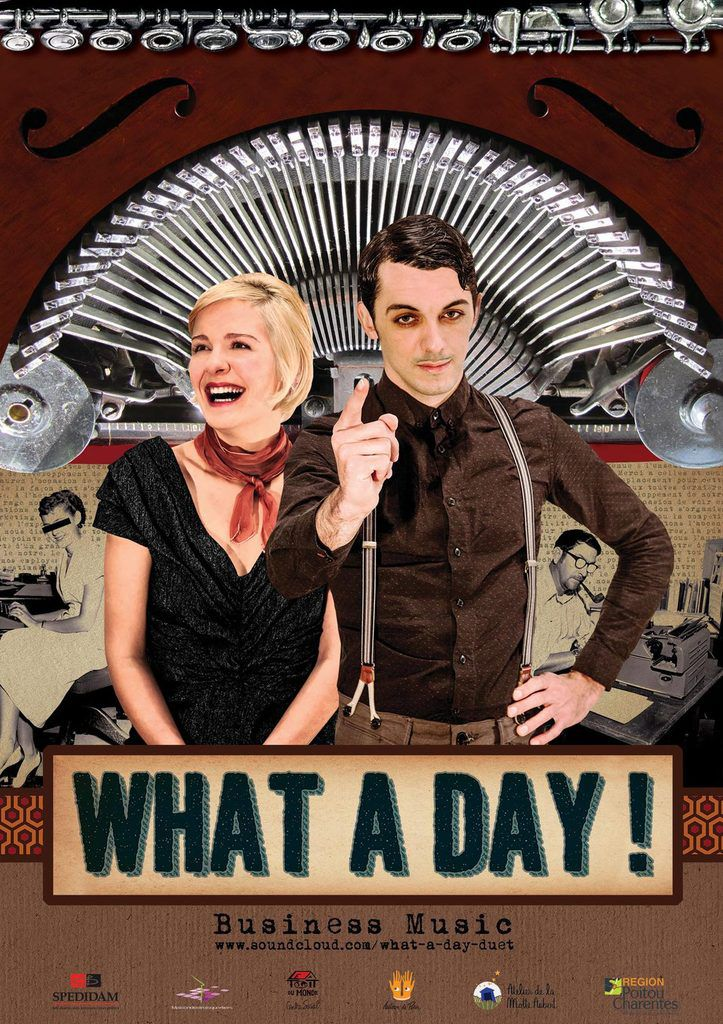 Poster What A Day  A6 web