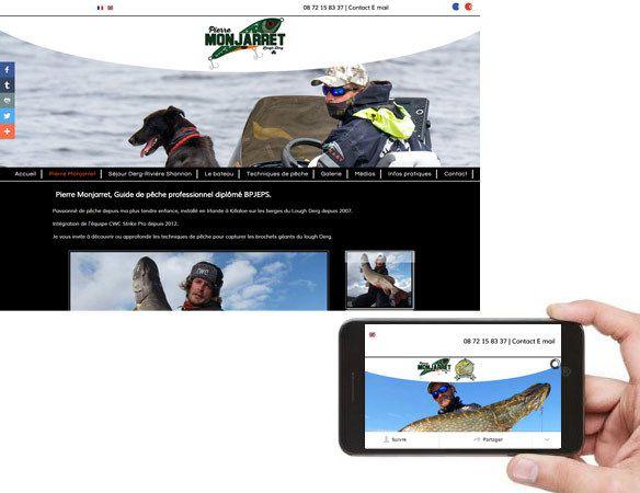 Site internet Guide de Pêche en Irlande