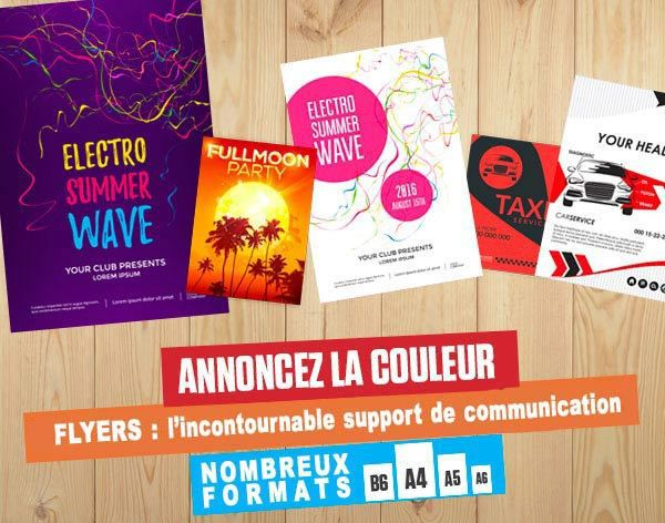 Flyers : l'incontournable support de Communication !