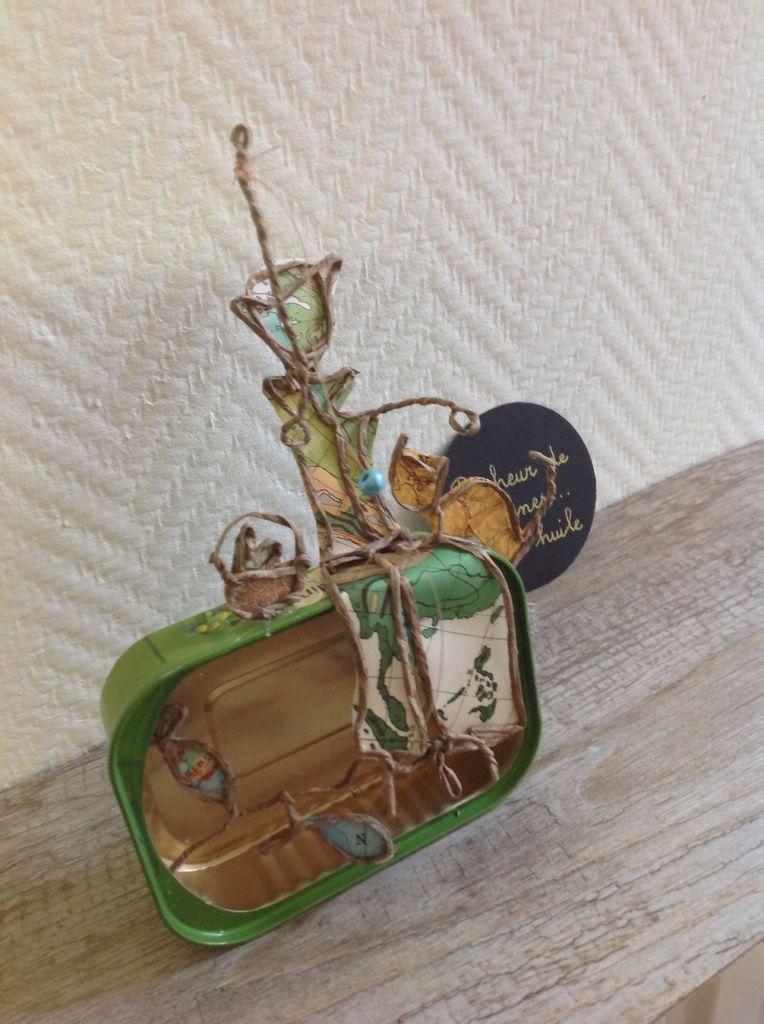 Pêcheur de sardines...à l'huile