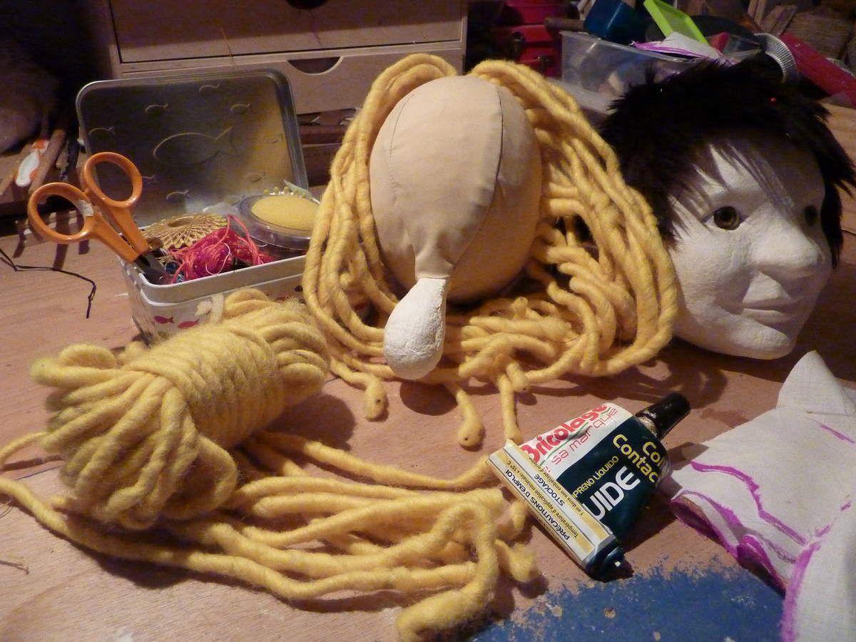 Amandine Dumoussaud, créatrice Marionnettes