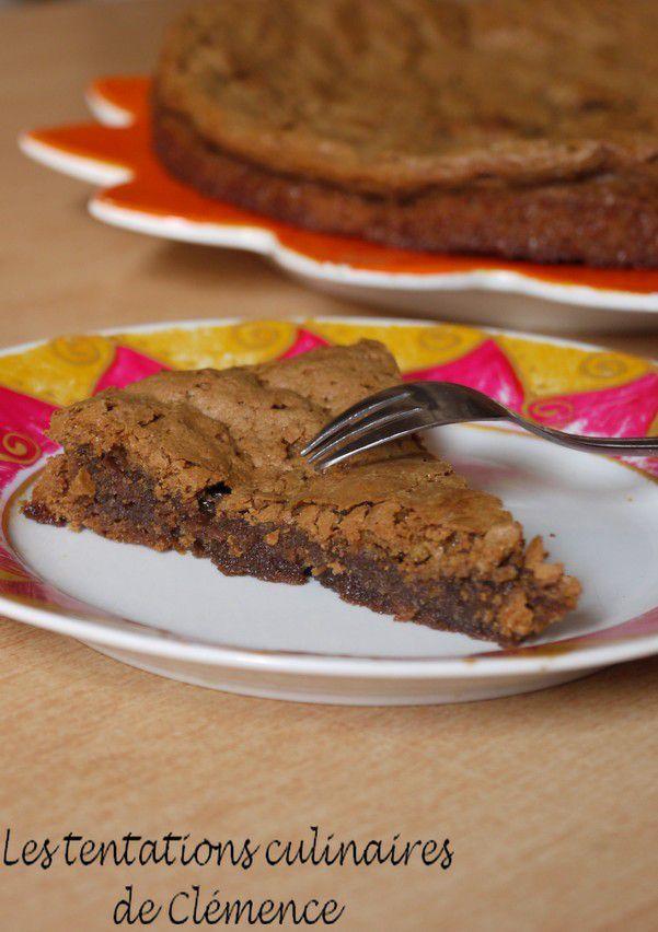 Gâteau aux restes de chocolat { Je vide mon placard}