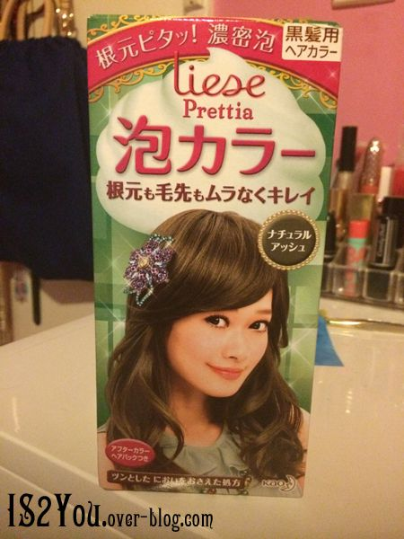 Kao Liese Bubble Hair Color Ash Brown Of Liese Bubble Hair