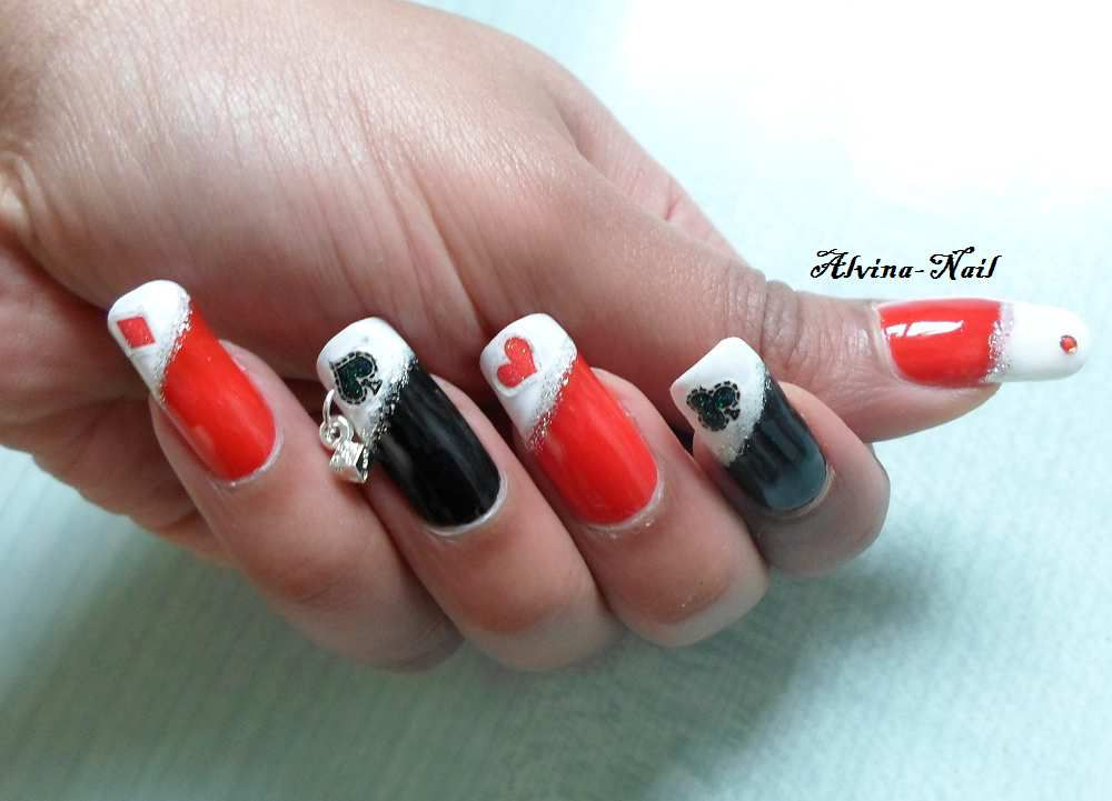 Casino Nails Alvina Nail Art