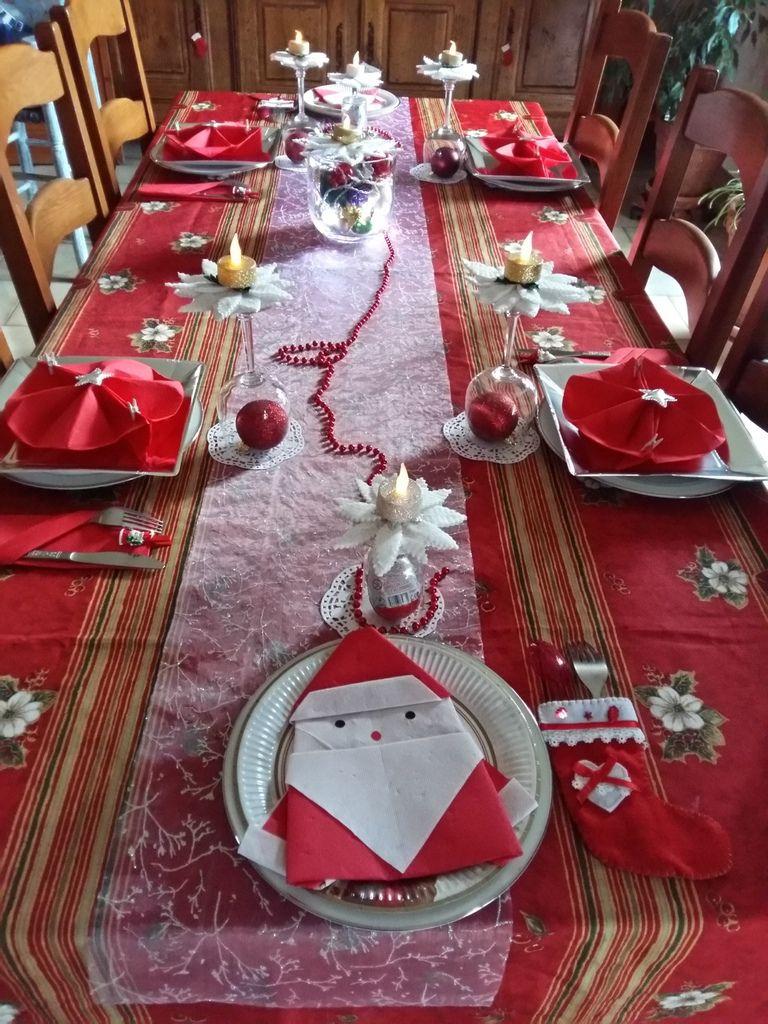 Après mes pliages de serviettes voici le dressage de ma table pour noel.puis ma bûche à la framboise pour le réveillon et mon biscuit chocolat praliné .Joyeux Noël à tous ceux qui passeront me rendre visite sur mon blog