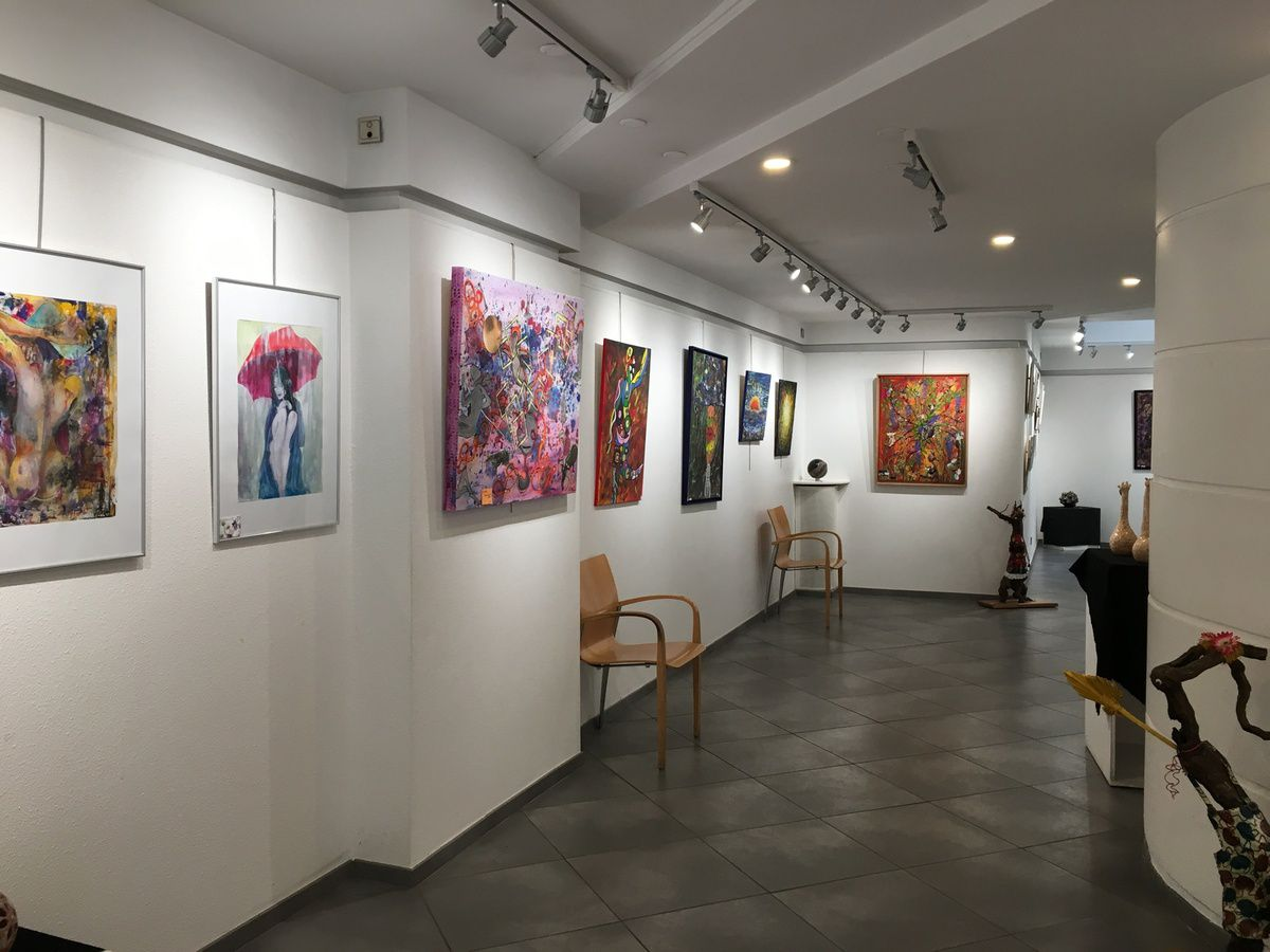 L'expo au Bailly, les images :