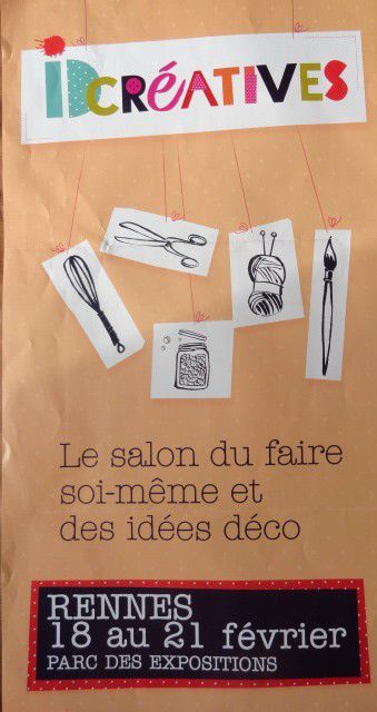 &quot&#x3B;SALON IDCREATIVES DE RENNES, TARIF REDUIT&quot&#x3B;
