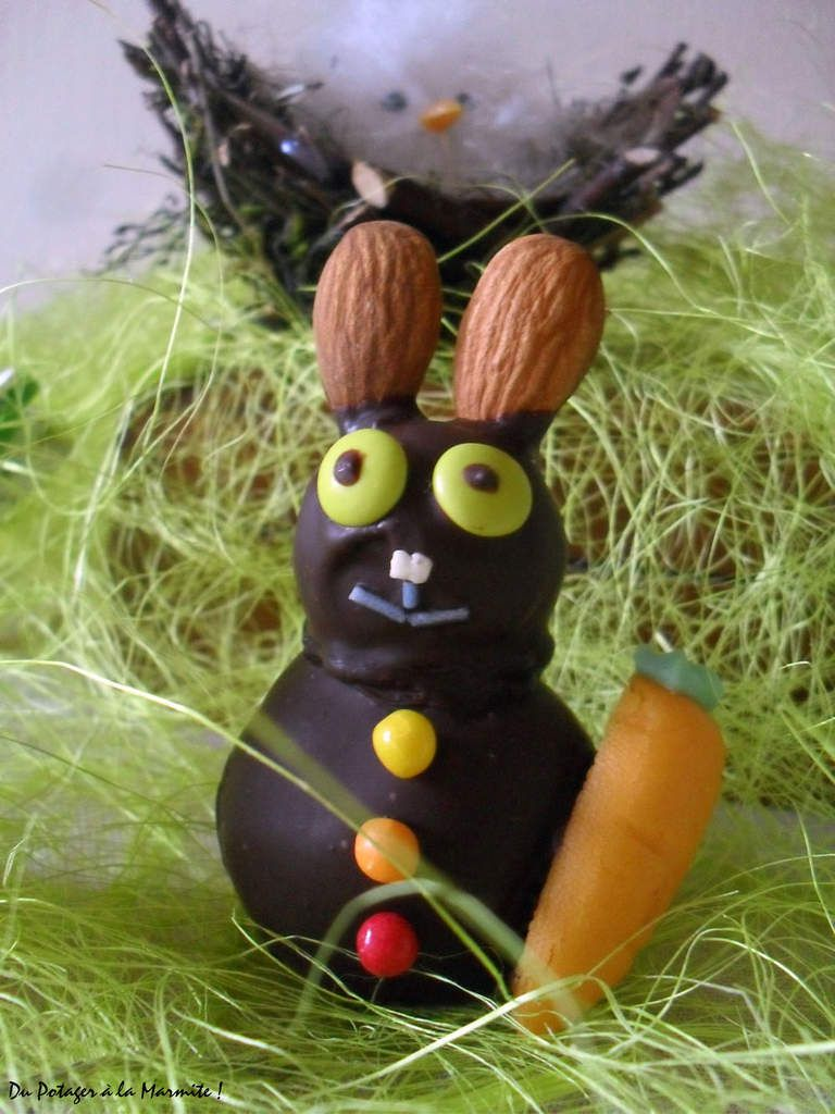 Petits Lapins de  Pâques 100% Chocolat