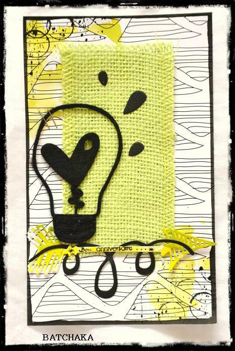 Défi Sketch carte chez Scrapandco