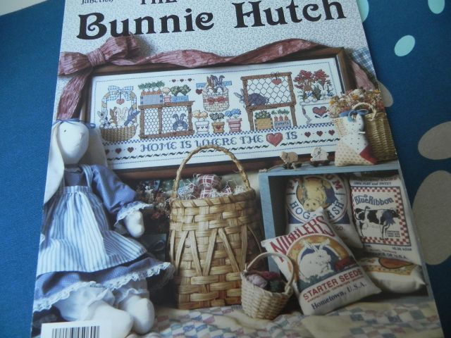 Jeremiah Junction Stitching in the kitchen - JJ The bunnie hutch - PlumStreet samplers Hares' autumn - The trilogy Halloween tree