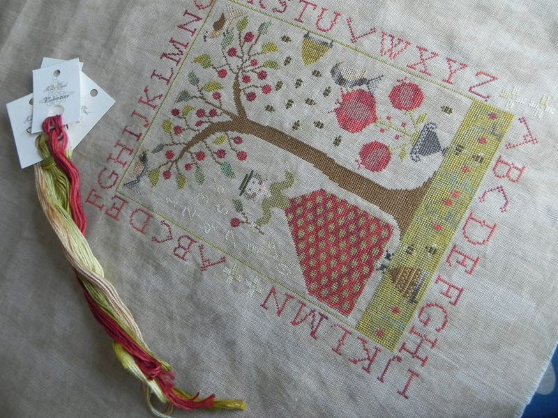 Summer at Cherry Hill - With thy needle and thread
