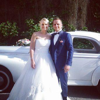 Que la mariée était belle ! Que le marié était beau ! <3
