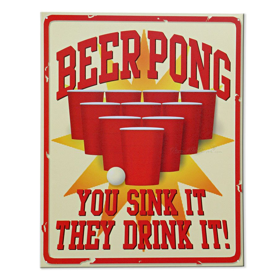how to make a beer can pong