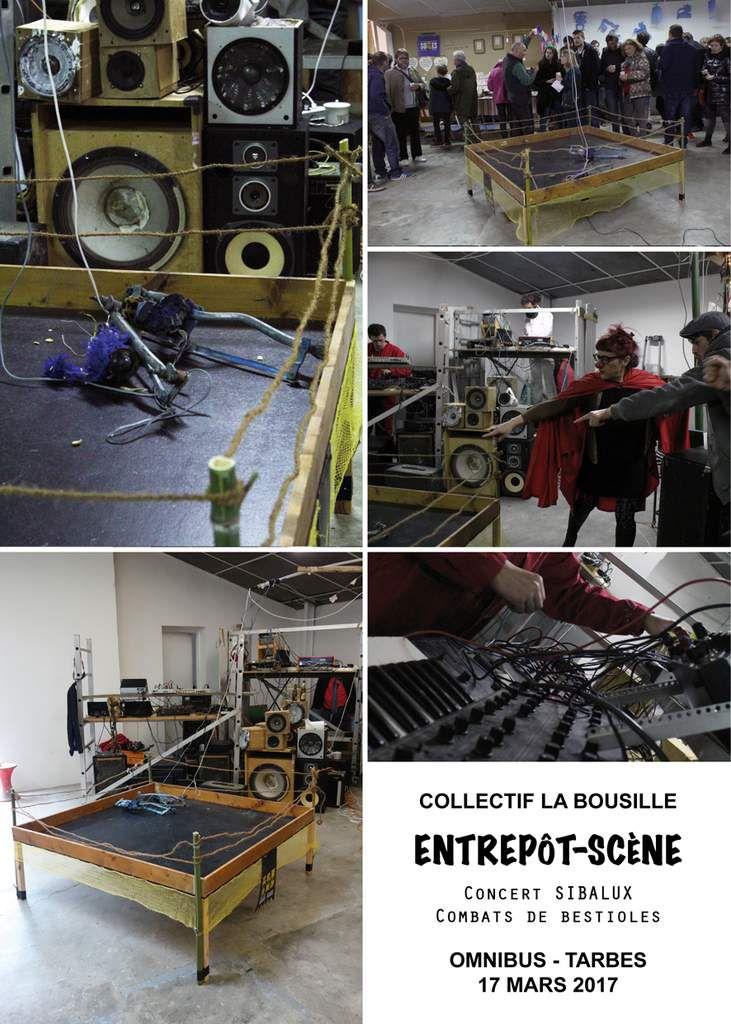 Soirée Entrepôt-scène à Omnibus : les  images