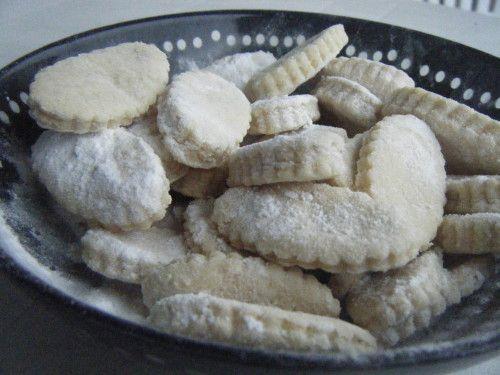 Canestrelli : biscuits sablés vanille
