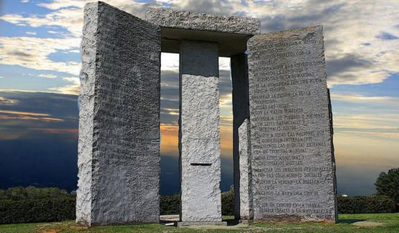 les Georgia Guidestones