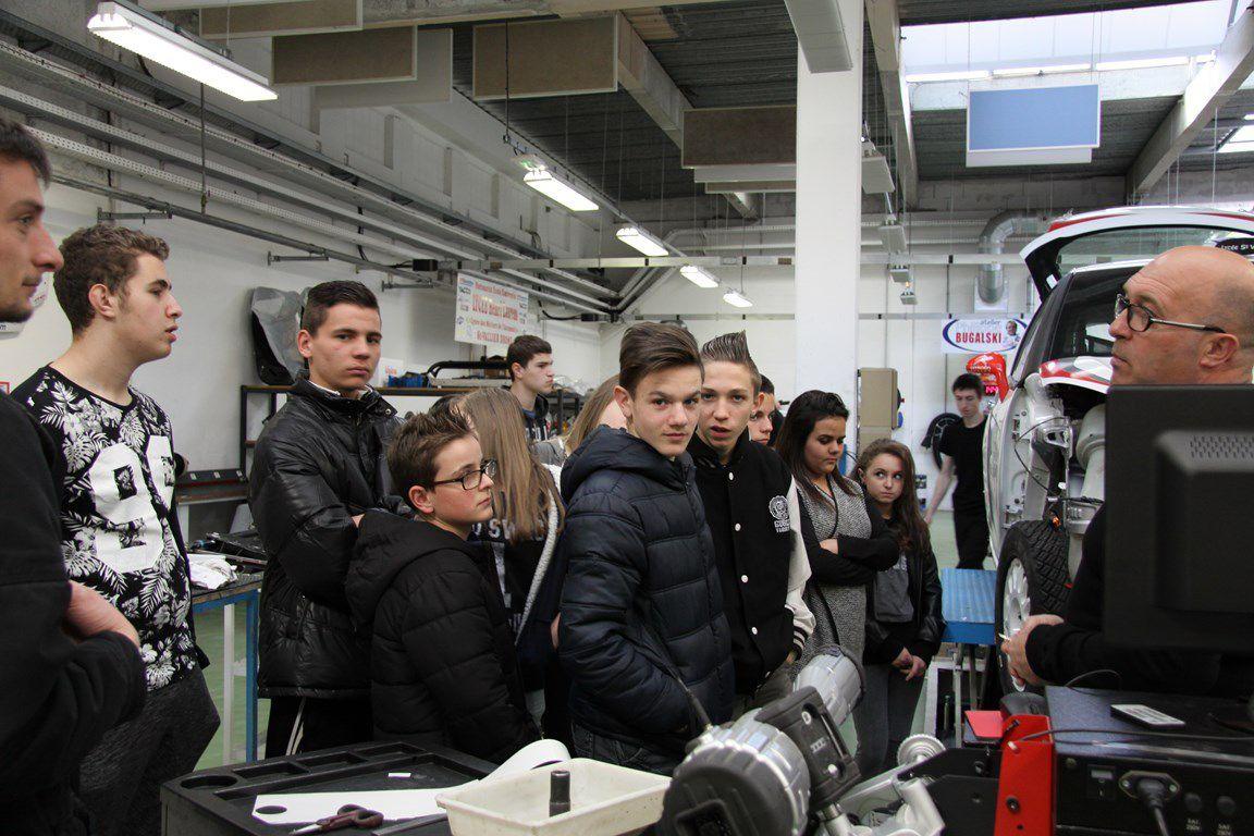 Sortie au Lycée Henri Laurens de Saint-Vallier