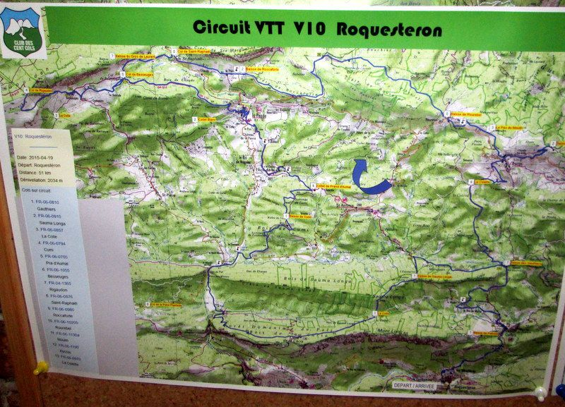 1- Séjour Cent Cols à GILETTE (06)