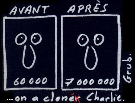 ...on a cloné Charlie !