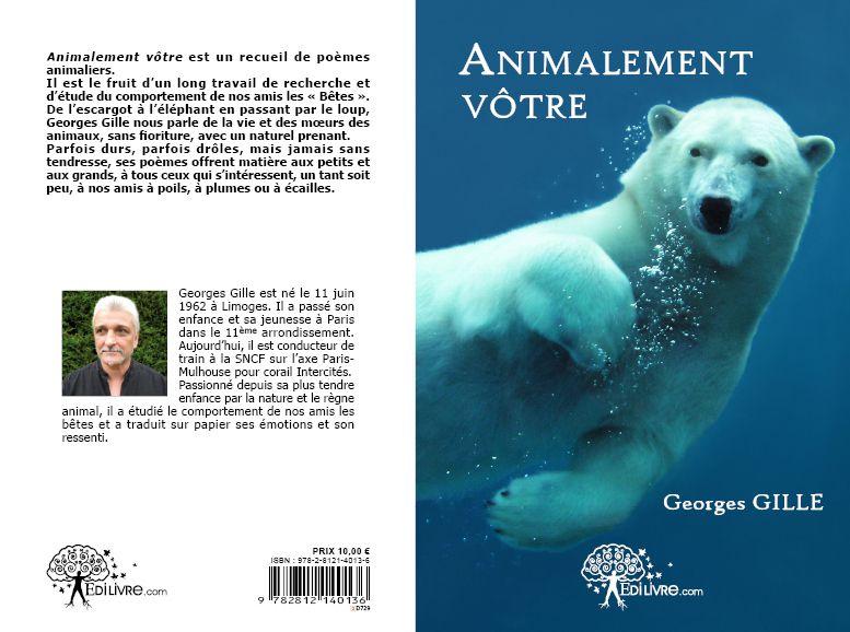 DU NOUVEAU CONCERNANT MON RECUEIL DE POEMES ANIMALIERS