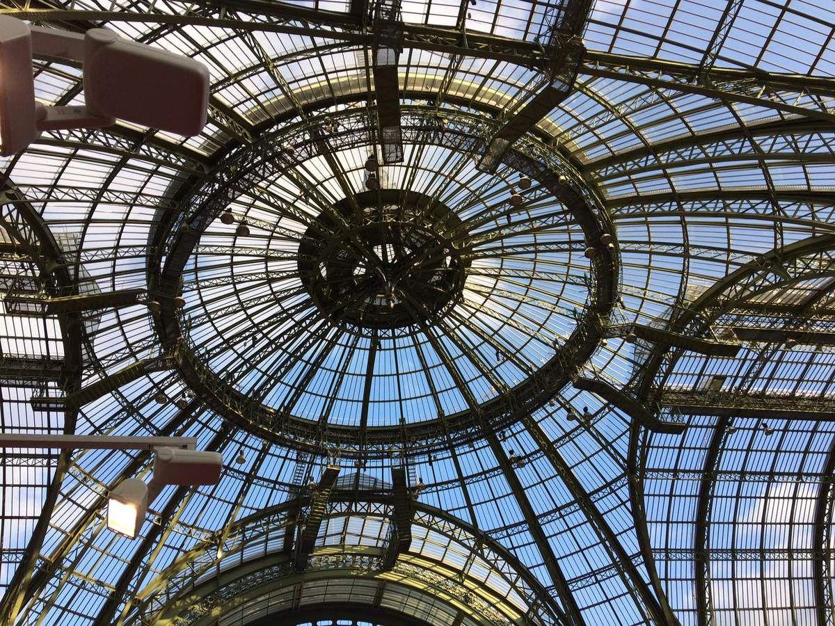 Merci de vos visites sous cette magnifique verrière du Grand Palais
