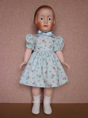 Josette (46cm) en robe printanière