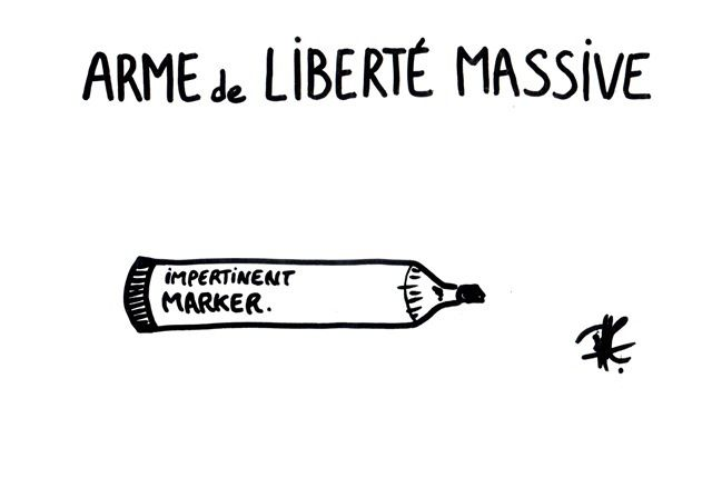 *weapon of mass freedom