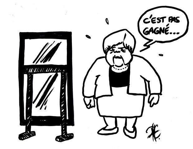 MERKEL EN LUTTE CONTRE LA GRÈCE...-
