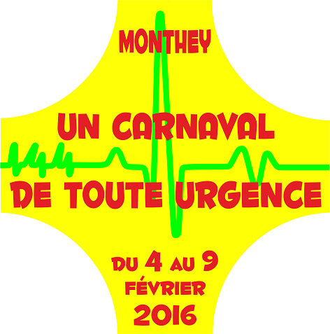 Logo 2016 du 144ème carnaval de Monthey