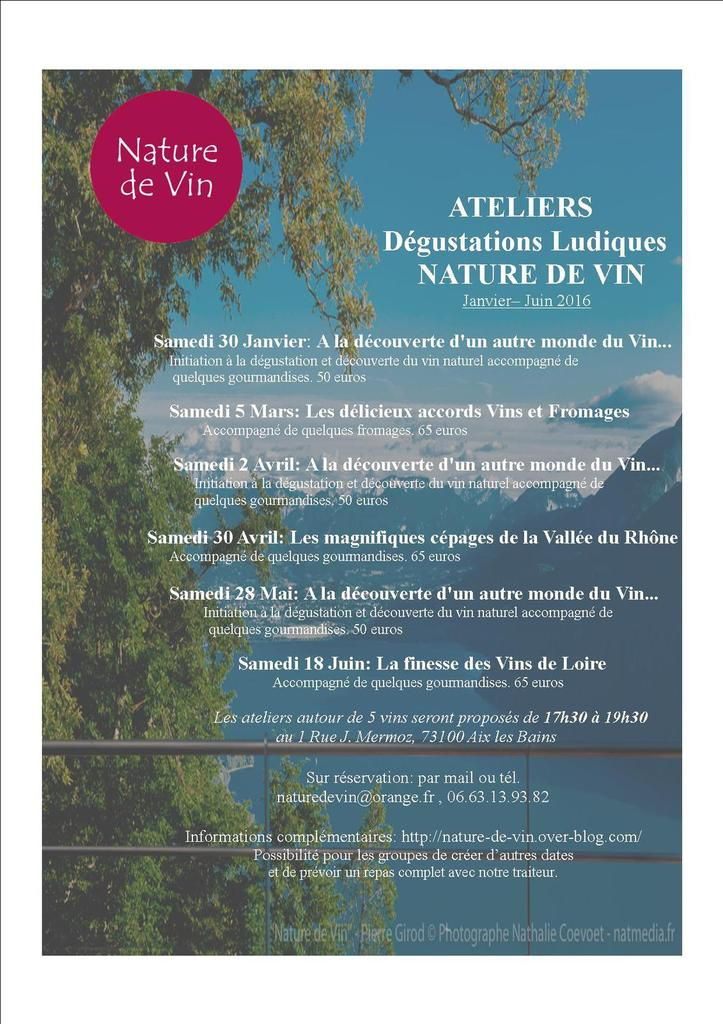 Bienvenue sur le blog du vin Vivant!!!