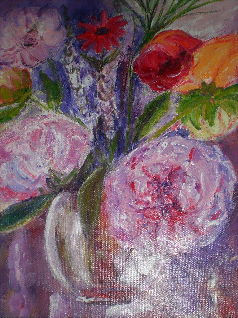 Acrylique sur toile 27 cm x 35 cm
