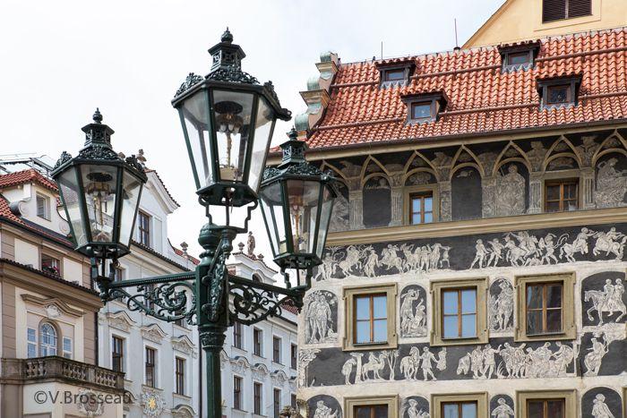 Prague - place de la vieille ville