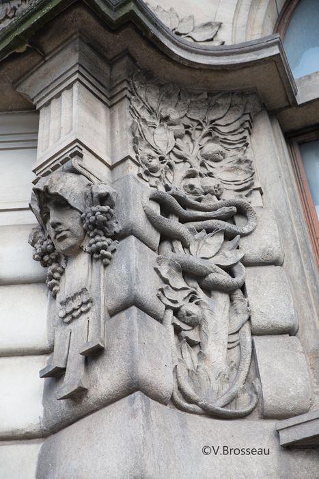 Prague - l'ancienne gare - art nouveau
