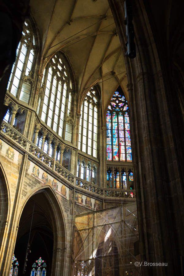 Prague - cathédrale St Guy - intérieur