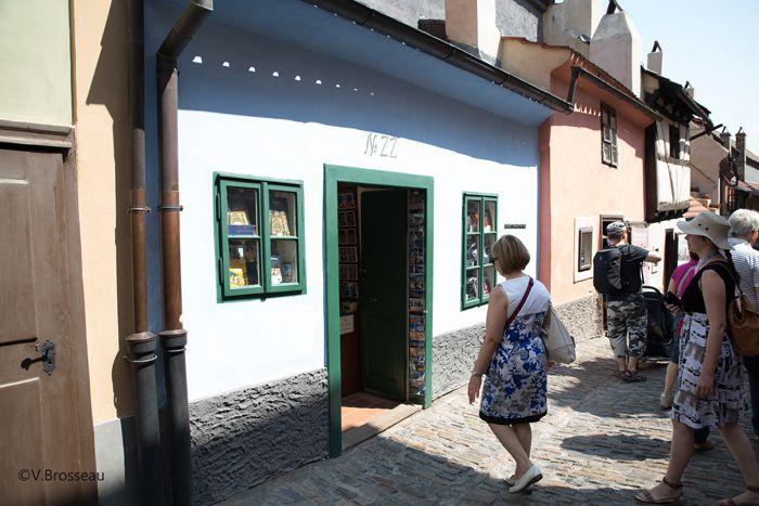 La maison où séjourna Kafka