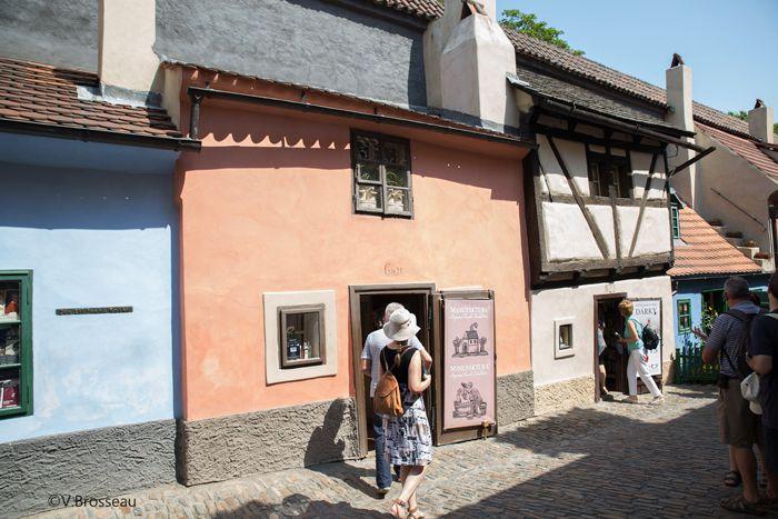 Prague - la ruelle d'or -