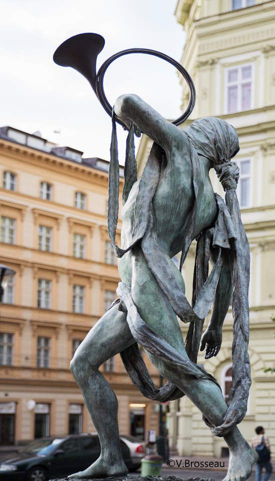 Sculptures des musiciens - Prague -