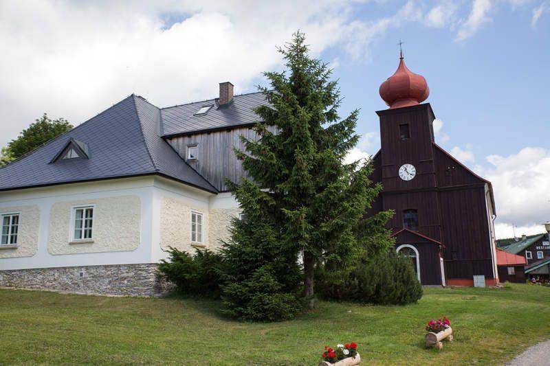 Vers Malá Úpa - nord république tchèque