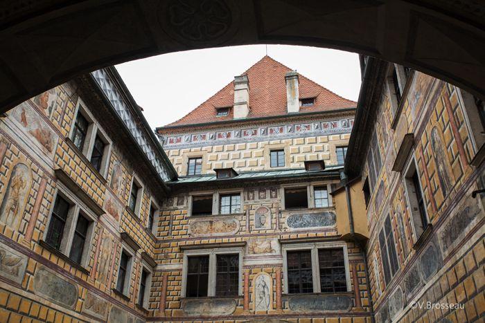Český Krumlov -  Bohême-du-Sud - République Tchèque
