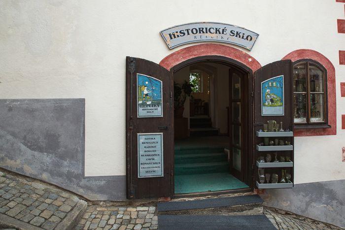 Les petites boutiques de Český-Krumlov - Bohême du sud