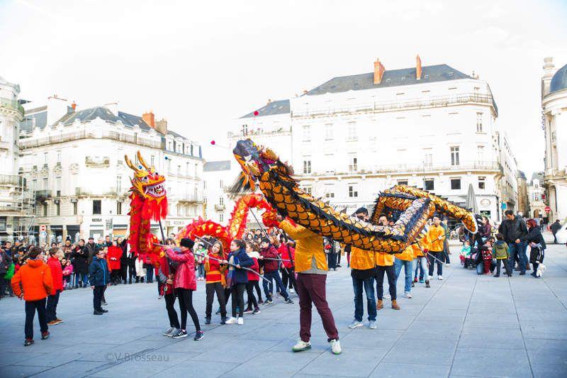 Fête du nouvel an chinois à Angers !