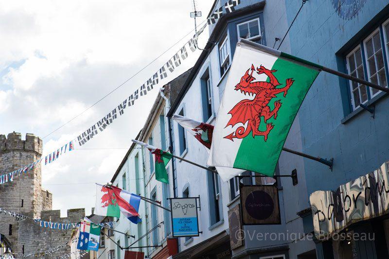 Nord du Pays de Galles : Caernarfon ...