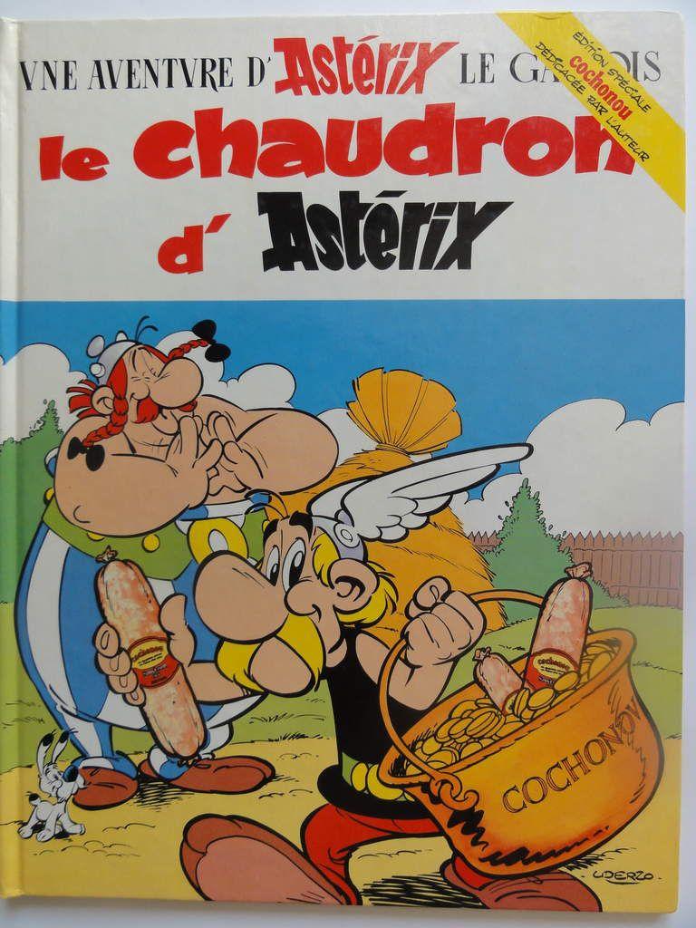 Le chaudron d'Astérix (Edition spéciale Cochounou, 1986)