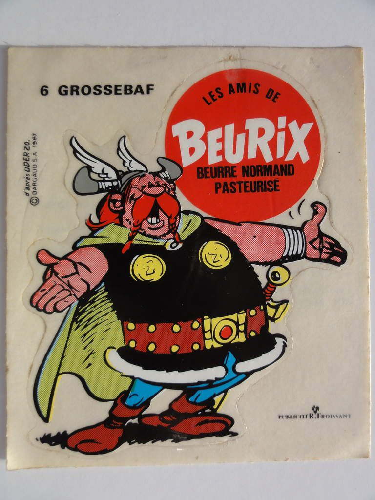 auto-collant beurix Grossebaf. 1967