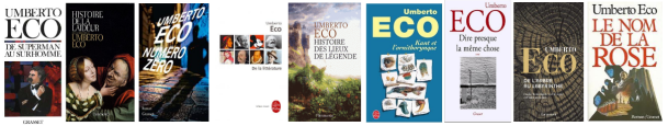 Décès d'Umberto Eco