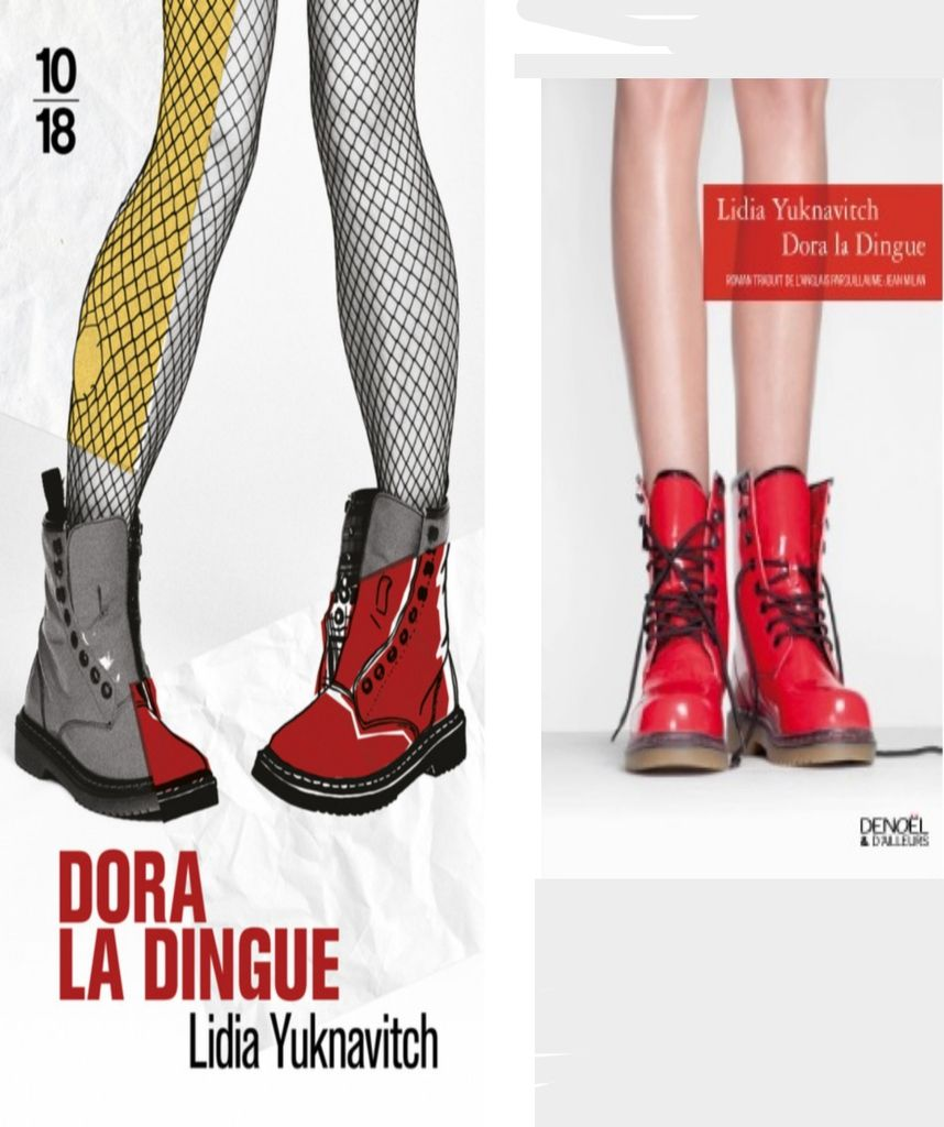Dora la dingue, de Lidia YUKNAVITCH